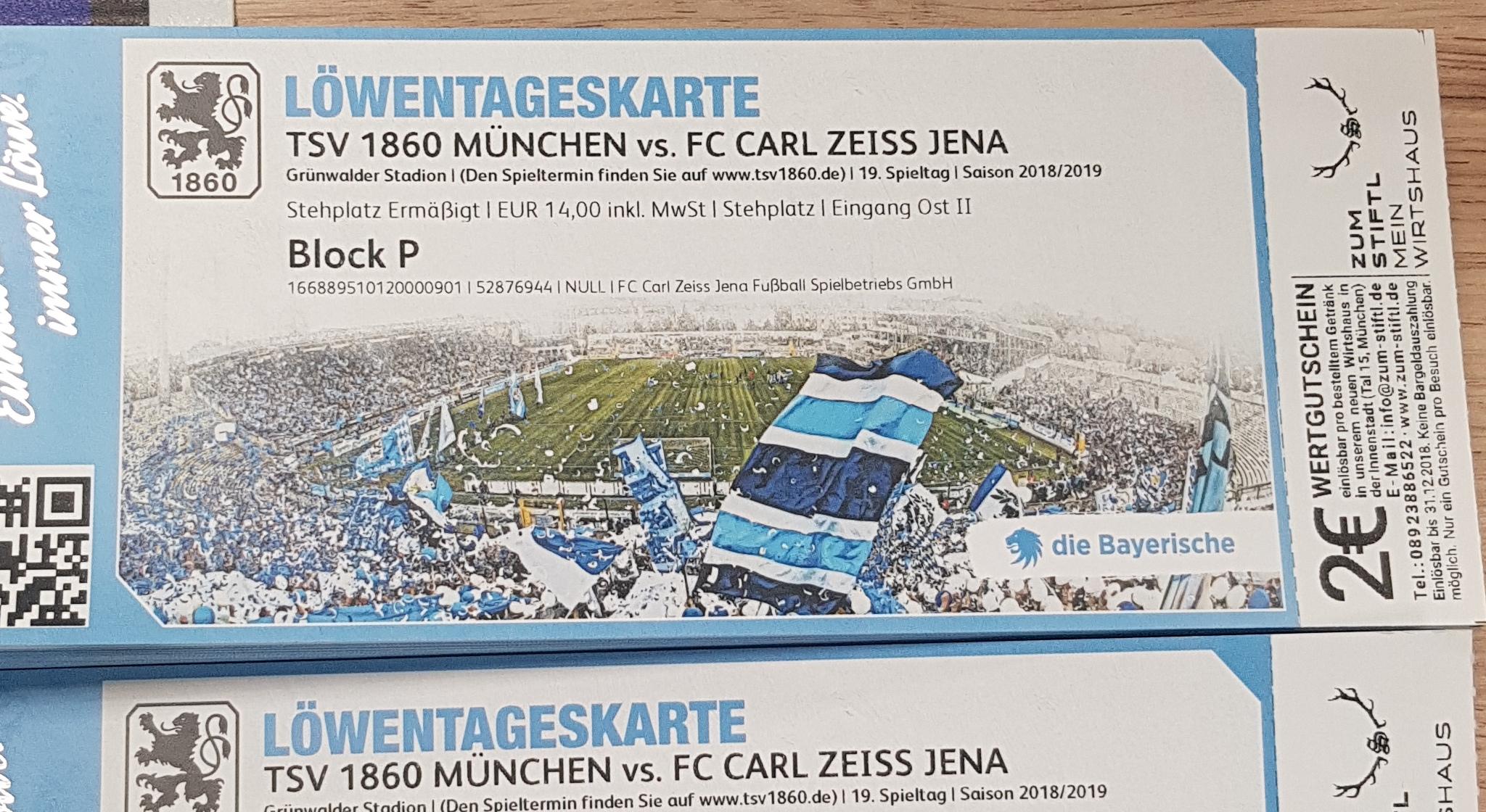 1860 München Tickets
